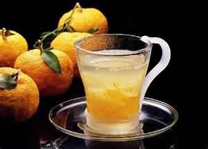 citron tea