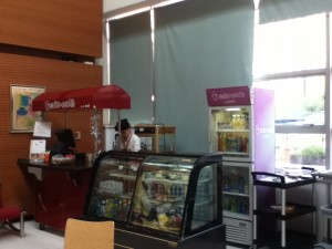 kiosk inside school