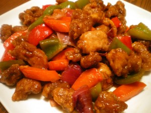 Pollo Agridulce Chino Receta Original / Original Chinese ... |Guangdong Sweet And Sour Pork