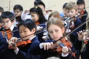 bristish school beijing music