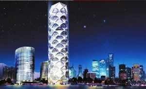 poly real estate wangjing diamond lantern tower