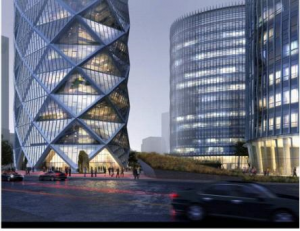 diamond lantern tower wangjing beijing poly real estate