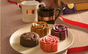 Starbucks moon cake