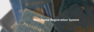 Real name registration for telecommunication users