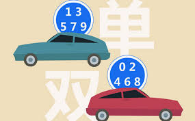 Odd-even car plate alternance