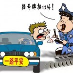 Traffic penalties in Beijing