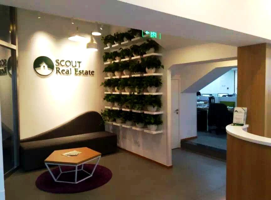 SCOUT Real Estate Sanlitun Office Entrance
