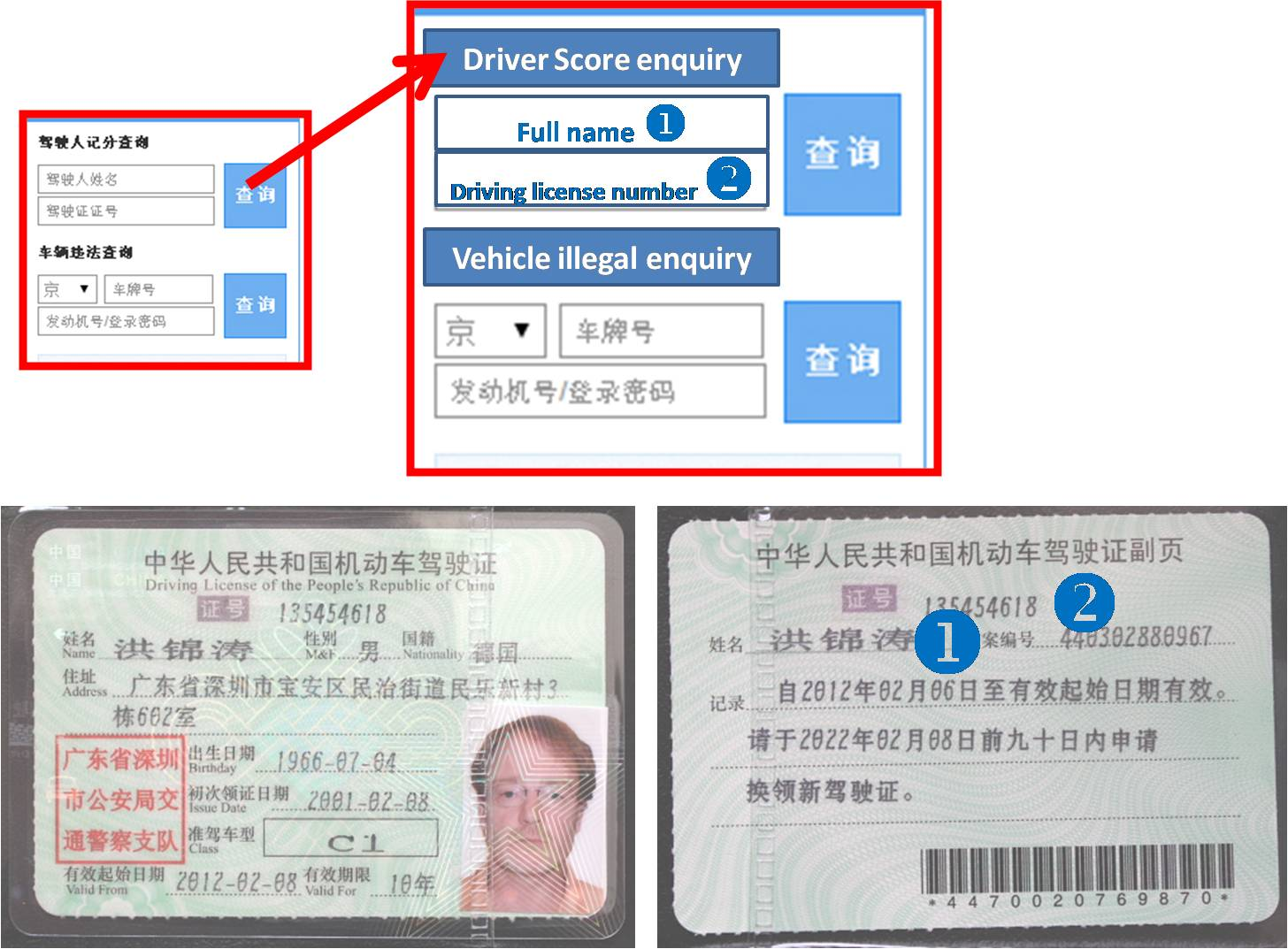 Driving in beijing check if you have records scout real for Driver license motor vehicle record