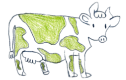 green cow farm