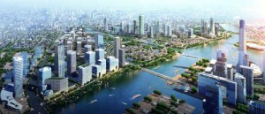 Tongzhou, Beijing, P.R.C: Leveraging International and Domestic Resources to Build a Model of the New International City.  (PRNewsFoto/Beijing Fang Di Institute of Economic Development)