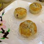 Yunnan rose flower cake (Traditional Yunnan Mooncake)