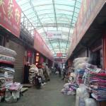 Inside Muxiyuan fabric market