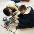 "This year, students in the Yew Chung International School of Beijing's Robotics Club created a fully mobile aluminum robot from scratch. Nicknamed ""Mr. Shakey,"" a team of six students not […]"