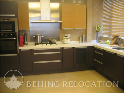 Beijing Apartment's Kitchen