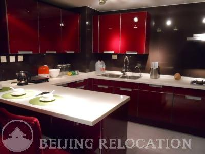 Beijing Apartment's Kitchen in Naga