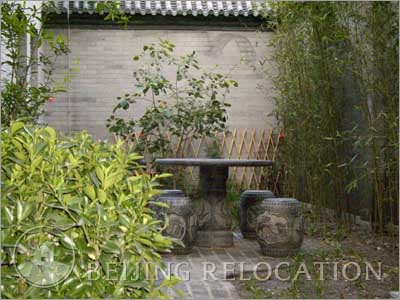 Courtyard  in Forbidden City Beihai