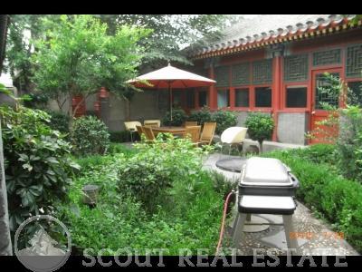 Courtyard  in Chaoyangmen Jianguomen