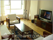 Living room in China Central Place