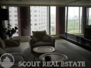 Living room in Beijing SOHO Residences