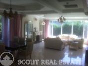 Living room in villa Grand Hills