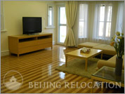 Living room in Beijing Riviera