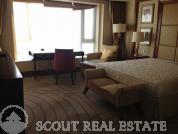 Living room in Palm Spring Platinum Apartments