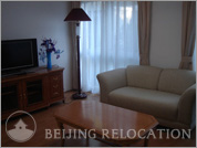 Living room in Guangming Apartments