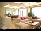 Living room in serviceapartment Kingstone International