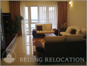 Living room in DRC Liangmaqiao