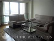 Living room in Regent Court