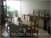 Living room in Beijing Hermit