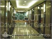Lobby of China World Trade Center