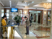 office CBD Lobby of CITIC Building  Beijing Relocation