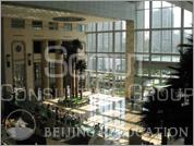 Lobby of Gateway Plaza