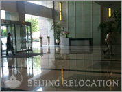 Lobby of Jin Bao Tower