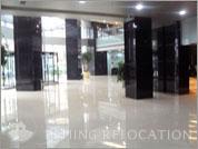 Lobby of Oriental Media Center